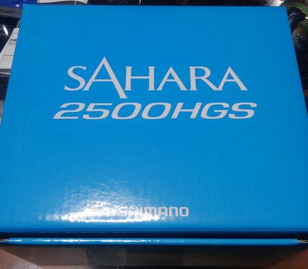 プレゼント用に買った17サハラ 2500HGSが届く。思ったより良い出来です。あげるのやめようかな・・・。