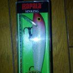 シーバス釣行用に実績ありルアーを揃えていくよ。その2「ラパラ CD9」
