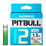 シマノから激安のPEライン「PITBULL(ピットブル)」が登場!12本撚りでも驚きの価格!
