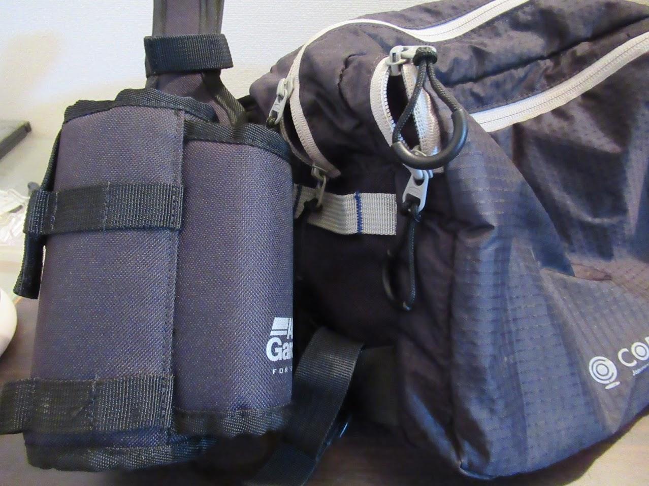 アブガルシア「ロッドアンドボトルホルダー2」の購入インプレ。容量が不足しているバッグに追加で非常に便利な一品。